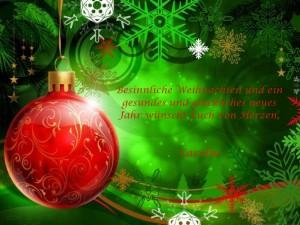 Wihnachtsgrüße 2013
